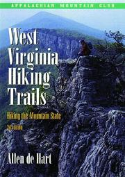 Cover of: West Virginia hiking trails | Allen De Hart