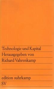 Technologie und Kapital