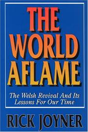 Cover of: The World Aflame