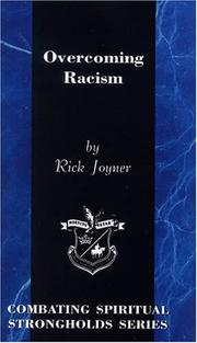 Cover of: Overcoming racism