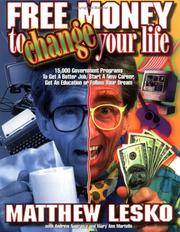 Cover of: Free money to change your life