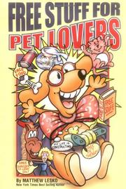 Cover of: Free Stuff For Pet Lovers