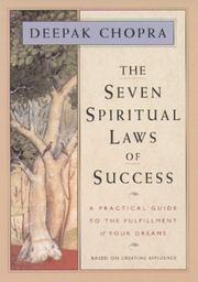 Cover of: Seven spiritual laws of success