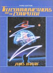 Cover of: Telecommunications and the computer