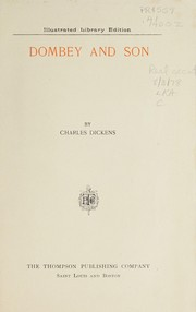Cover of: Dombey and Son | Charles Dickens