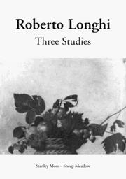 Cover of: Three Studies