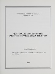 Cover of: Quaternary geology of the Carmacks map area, Yukon Territory