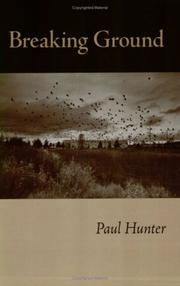 Cover of: Breaking Ground | Paul Hunter