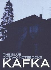 Cover of: The blue octavo notebooks
