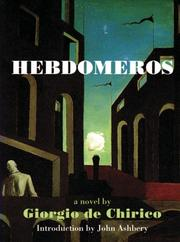Cover of: Hebdomeros & Other Writngs