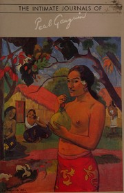 Cover of: The intimate journals of Paul Gauguin