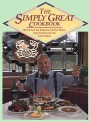 Cover of: The simply great! cookbook
