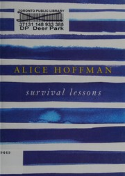 Cover of: Survival lessons | Alice Hoffman