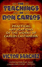 Cover of: The teachings of Don Carlos