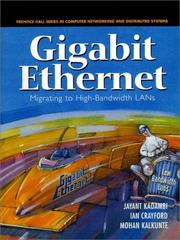 Cover of: Gigabit Ethernet  | Jaant and et a Kadambi