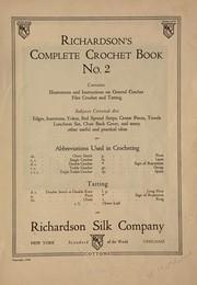 [Richardson's crochet books] ...