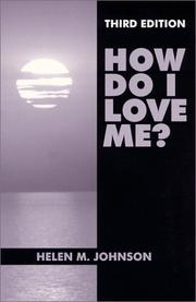 Cover of: How Do I Love Me?