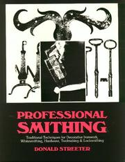Cover of: Professional smithing