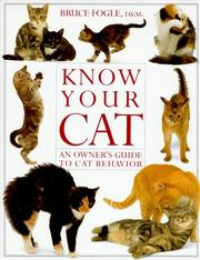 Cover of: Know your cat |
