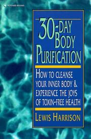 Cover of: 30 Day Body Purification