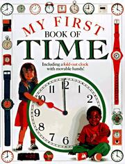 Cover of: My First Book of Time