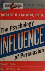 Cover of: Influence | Robert B. Cialdini