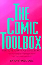 Cover of: The comic toolbox