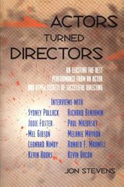 Cover of: Actors turned directors | Jon Stevens