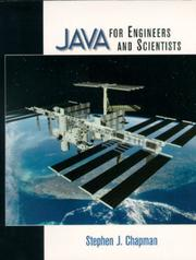 Cover of: Java for Engineers and Scientists by Stephen J. Chapman