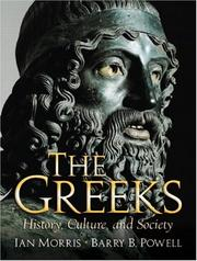 Cover of: The Greeks: history, culture, and society