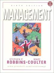 Management by Stephen P. Robbins