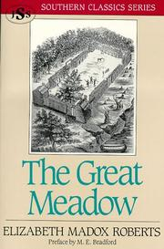 Cover of: The great meadow