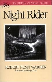 Cover of: Night rider