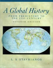Cover of: A Global History | Leften Stavros Stavrianos