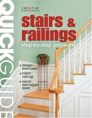 Cover of: Stairs & railings