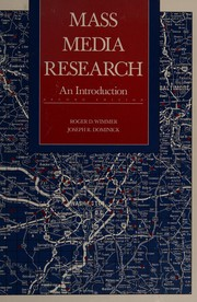 Cover of: Mass media research | Roger D. Wimmer