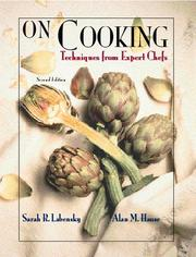 Cover of: On Cooking, Volume 1 | Sarah R. Labensky