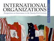 Cover of: International Organizations | Kelly-Kate S. Pease