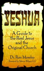 Cover of: Yeshua