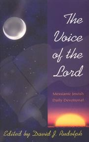Cover of: The Voice of the Lord | David J. Rudolph