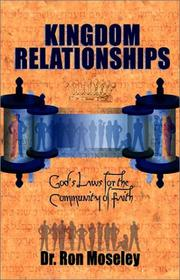 Cover of: Kingdom Relationships