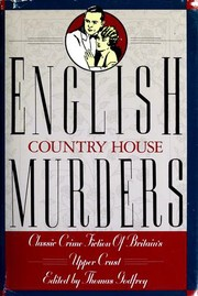 Cover of: English Country House Murders: Tales of Perfidious Albion
