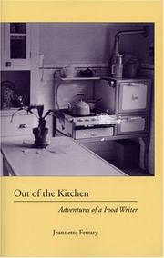 Cover of: Out of the Kitchen