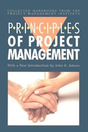 Cover of: The principles of project management |