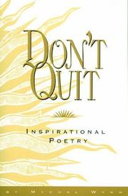 Cover of: Don't Quit