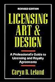 Cover of: Licensing art & design