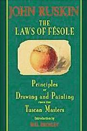 The laws of Fésole by John Ruskin