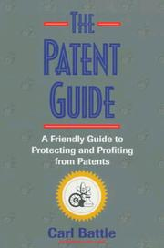 Cover of: The patent guide