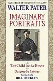 Cover of: Imaginary portraits