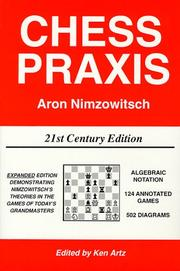 Cover of: Chess Praxis